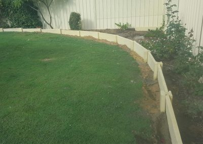 panel and post retaining wall perth