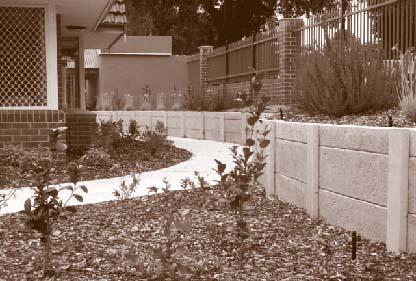 concrete retaining walls perth